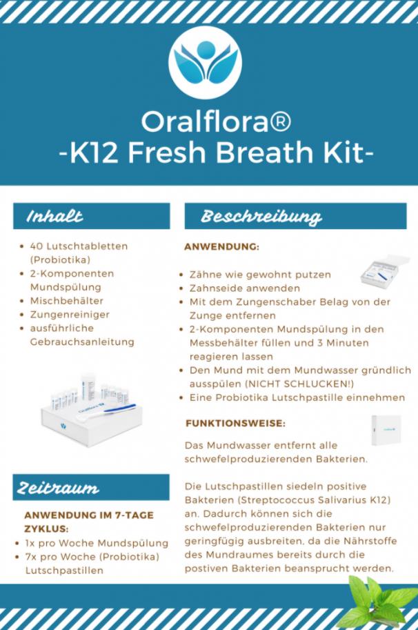 Oralflora Fresh Breath Kit - Beschreibung