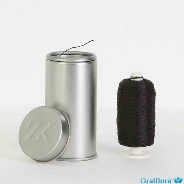 Polyester-Bambus Zahnseide Gewachst